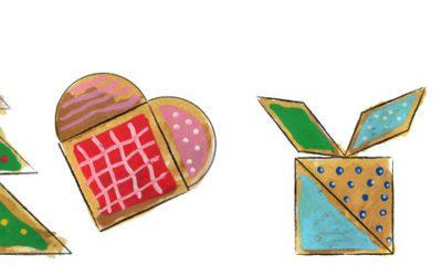Opskrift til kagedejen – Kan du lave geometriske figur af dine Julekager