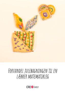 Julekage Tangram puslespil - Forvandel julebagningen til en lækker matematikleg