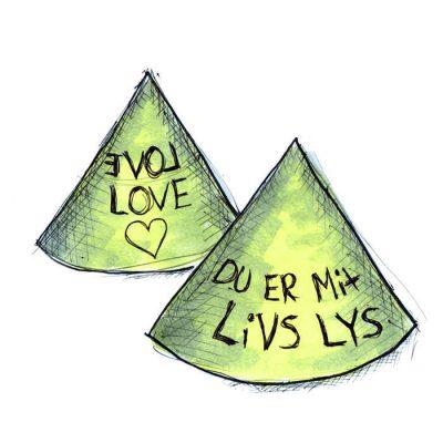 Kan du lave en lysende kærligheds erklæring til dit livs lys