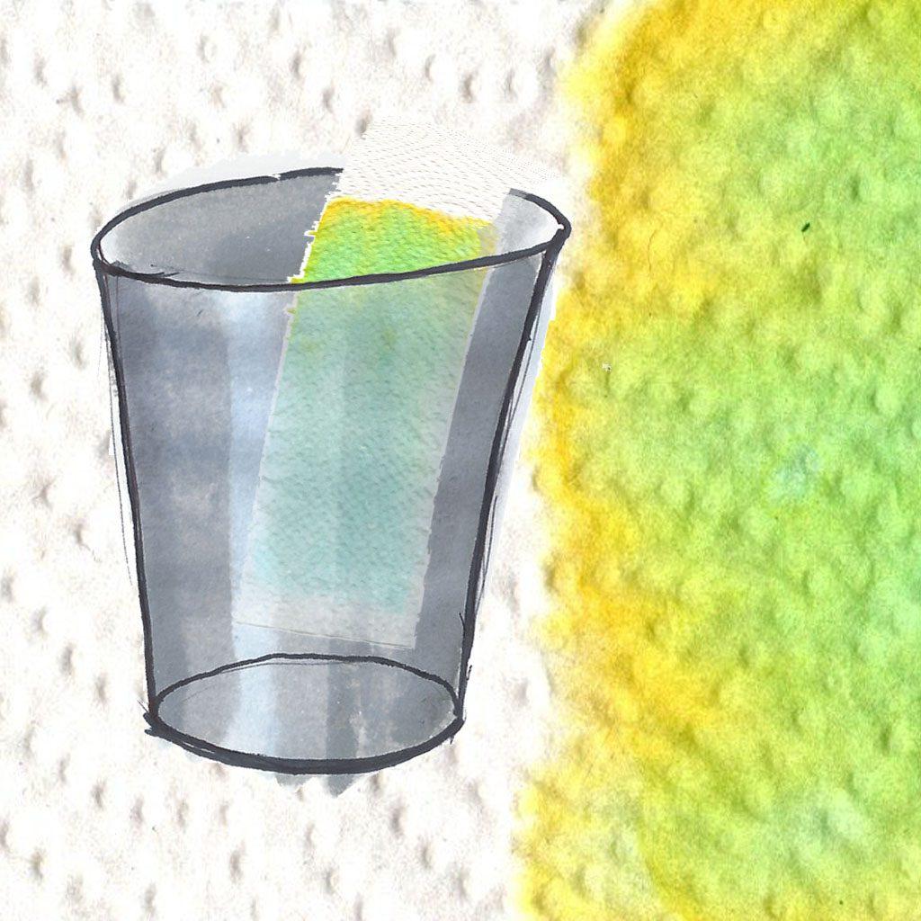 Kan du finde ud af hvor mange farver grøn er blandet af med kromatografi